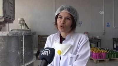 meslek lisesi - Meslek lisesi öğrencileri, boya imalatıyla üretime katkı sağlıyor (2) - KÜTAHYA