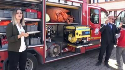 kurtarma tatbikati - Öğrenciler için yangın ve kurtarma tatbikatı - AĞRI