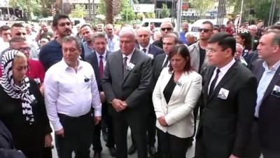 cenaze arabasi -  Aydın eski Milletvekili Mehmet Yüzügüler toprağa verildi