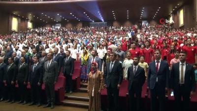 """Gençlik ve Spor Bakanı Mehmet Muharrem Kasapoğlu: """"Çocukları kötü şebekelerin ellerine düşürmeyeceğiz"""""""