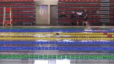 Alman yüzücüler olimpiyat için Erzurum'da kulaç atıyor - ERZURUM