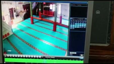 Camiden hırsızlık anı güvenlik kamerasında - TEKİRDAĞ