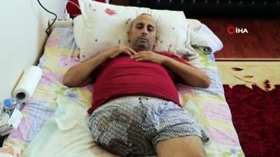 ucak bileti -  6 ay önce ayağı kesilen kanser hastası adam yardım bekliyor