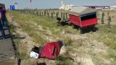 Aksaray'da trafik kazaları: 7 yaralı