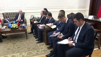 Bakan Soylu, BM Mülteciler Yüksek Komiseri Grandi'yi kabul etti - ANKARA
