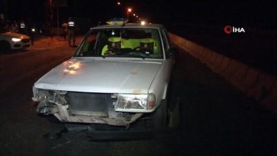 Elazığ'da otomobilin çarptığı yaşlı kadın öldü, torunu ağır yaralandı