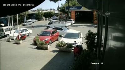 Polis şüpheli kovalamacası kamerada -