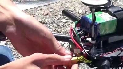 Yüksekovalı genç, hurda malzemelerle drone yaptı - HAKKARİ