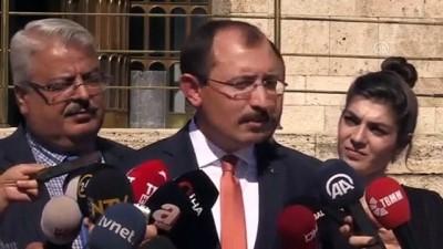 AK Parti Grup Başkanvekili Muş: (Yargı Strateji Belgesinin ilk paketi) Yaptığımız görüşmelerde muhalefet partilerinin çok ciddi eleştirileri yok' - TBMM