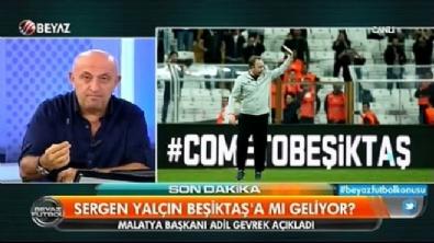 Sinan Engin'den Beşiktaş taraftarına sağduyu çağrısı