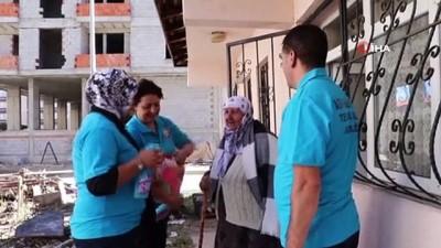 saglik personeli -  Ağrı'da evde bakım hizmeti başladı