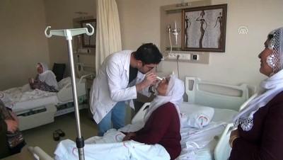 Bismil'de katarakt ameliyatı - DİYARBAKIR