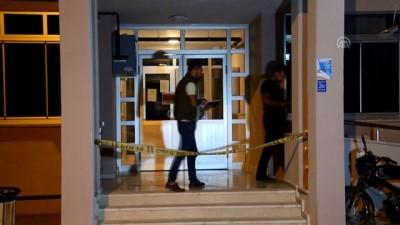 Karaman'da 7. kattan merdiven boşluğuna düşen kişi öldü