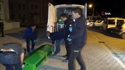 Karaman'da apartmanın merdiven boşluğuna düşen şahıs öldü