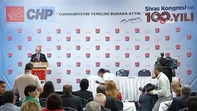 bagimsizlik -  Kılıçdaroğlu Sivas'ta gerçekleştirilen PM toplantısında konuştu