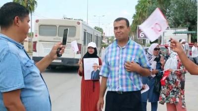 (TEKRAR) Tunus'ta Bağımsız Cumhurbaşkanı Adayı eski Savunma Bakanı Zubeydi - CENDUBE