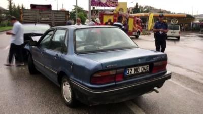 Zincirleme kaza: 1 yaralı - ISPARTA