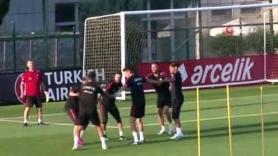 milli futbolcu - A Milli Takım, Riva'da hazırlıklarını sürdürüyor