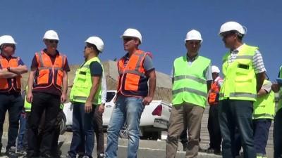 DSİ Genel Müdür Yardımcısı Dağdeviren, baraj inşaatını inceledi - MUŞ