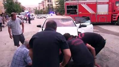 Kamyonet ile otomobil çarpıştı: 2 yaralı - KAHRAMANMARAŞ