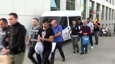 Ordu'da aralarında kamu çalışanlarınında olduğu organize suç örgütüne operasyon