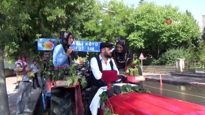 Ürgüp Bağ Bozumu festivali kortej yürüyüşü ile başladı