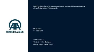 Bartın'da uyuşturucu operasyonu - BARTIN