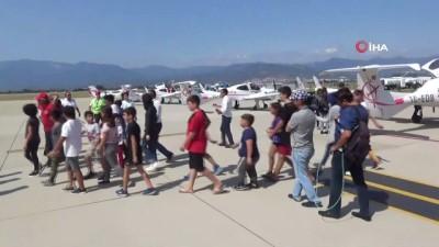 sosyal sorumluluk -  Çocuklar ve gaziler gökyüzüyle buluştu