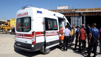 Karaman'da kamyonun yakıt deposu patladı: 3 yaralı