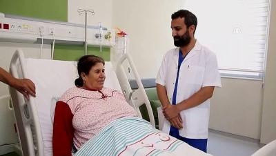 Kilo aldığını düşünen kadının rahminden 7 kilogramlık tümör çıktı - MANİSA