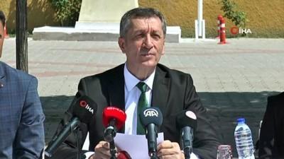 Milli Eğitim Bakanı Selçuk, Nevşehir'de okul zilini tanıttı