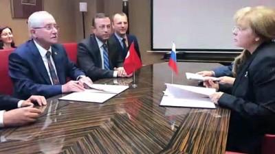 siyasi partiler - (YSK) Başkanı Güven Rusya'da - MOSKOVA