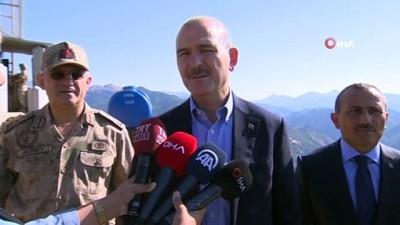 Bakan Soylu;'Bir siyasi partinin PKK terör örgütüne alma merkezi olarak değerlendirildiğini tüm vatandaşlarımız biliyor'