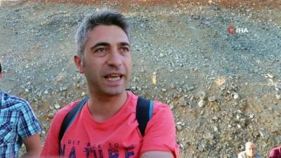 Erzincan'da faciadan dönüldü... İçerisinde 30 yolcu bulunan otobüs yandı