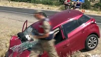 Gercüş'te trafik kazası: 1 ölü, 2'si ağır 4 yaralı