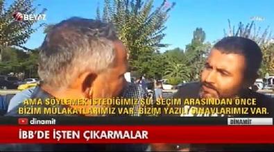 Ekrem İmamoğlu - İBB önünde işçiler isyanda!