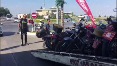 Tescilsiz, plakasız ve modifiye motosikletlere 'özel denetim'