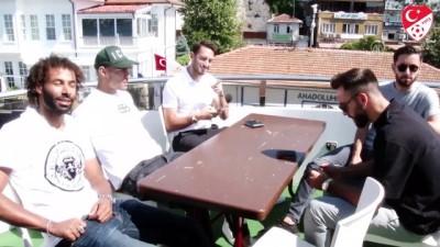A Milli Futbol Takımı tekne turu yaptı - İSTANBUL