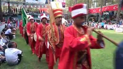 Devlet Bahçeli Yayladağı Aba Güreşleri festivali sona erdi