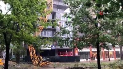 siddetli ruzgar -  - Dorian Kasırgası Kanada'yı Vurdu: 330 Bin Kişi Elektriksiz Kaldı