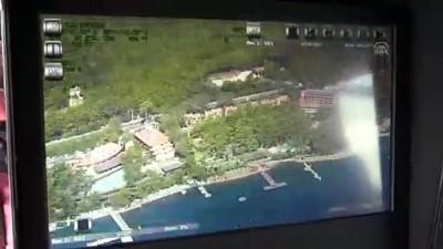 Muğla kıyılarına 'uçan göz'lü denetim (2)