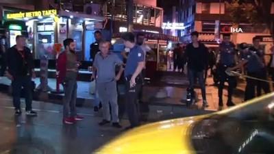 silahli saldirgan -  Taksiye silahlı saldırı: 1 yaralı