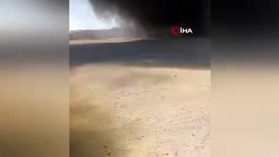 - Azez'de Petrol Tankeri Patladı: 2 Yaralı