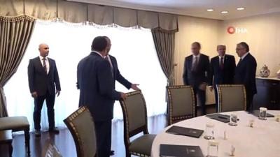 siyasi partiler -  - Bakan Çavuşoğlu, KKTC'de siyasi partilerle yuvarlak masa toplantısında