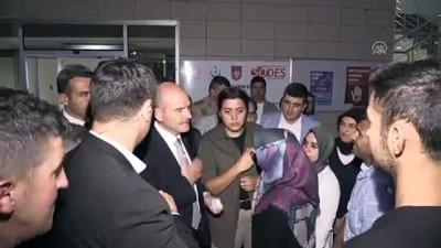 Bakan Soylu, Hatay Emniyet Müdürü Karabörk'ü ziyaret etti (2) - NİĞDE
