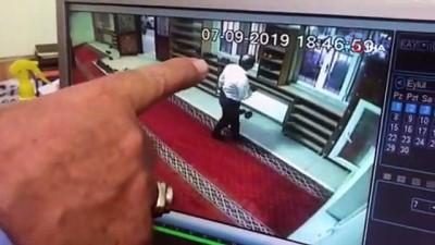 telefon gorusmesi -  Camide ayakkabı hırsızlığı kamerada