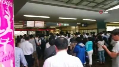 siddetli ruzgar -  - Japonya'yı Faxai Tayfunu Vurdu, 930 Bin Ev Elektriksiz Kaldı