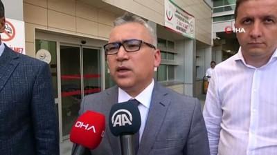 Vali Şimşek'ten Emniyet Müdürü Karabörk'ün sağlık durumuyla ilgili açıklama