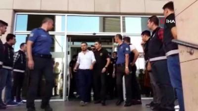 Yan bakma cinayeti zanlısı milli kick boksçu Berke Şahin mahkemeye sevk edildi