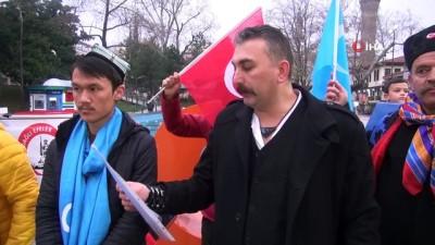 Bursa'da Çin'in Doğu Türkistan politikaları protesto edildi